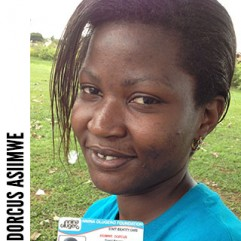 Dorcus Asiimwe, Executive Director/ Condomwise project manager
