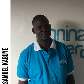 Samuel Kabuye, Business and Agriculture project coordinator