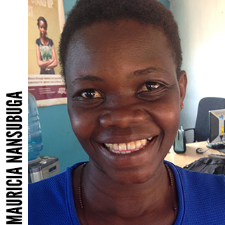 Mauricia Nansubuga (healthcare project assistant)