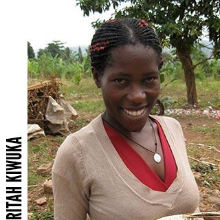 Ritah Kiwuka, volunteer