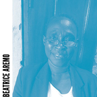 Beatrice Aremo, volunteer